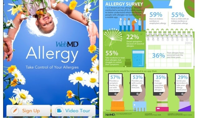 1. WebMD Allergy